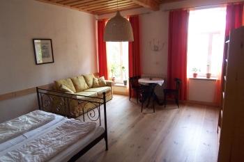 Doppelzimmer mit Seeblick im Urlaubs-Seminar 2020 von anders aufgestellt